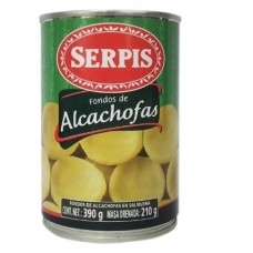 FONDOS DE ALCACHOFA SERPIS 390 GRS