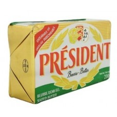 MANTEQUILLA CON SAL PRESIDENT 200 GRS
