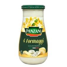 SALSA PANZANI 4 FORMAGGI 370 GRS