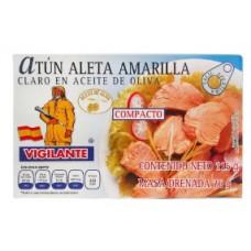 ATUN ALETA AMARILLA CLARO EL VIGILANTE 115 GRS