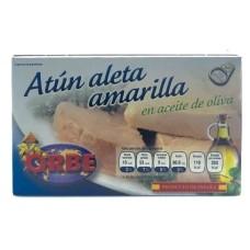 ATUN ALETA AMARILLA EN ACEITE VEGETAL 120 GRS