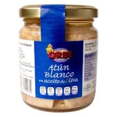 ATUN BLANCO ACEITE OLIVA BONITO ORBE 230 GRS