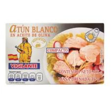 ATUN BLANCO EN ACEITE DE OLIVA EL VIGILANTE 115 GRS