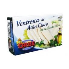 ATUN BLANCO EN ACEITE DE OLIVA ORBE BONITO 120 GRS