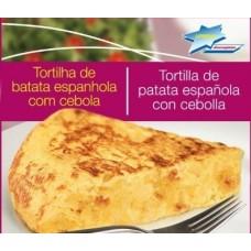 TORTILLA ESPAÑOLA DE PAPA Y CEBOLLA UPRENA 500 GRS
