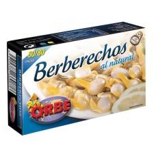 BERBERECHOS  AL NATURAL ORBE 120 GRS