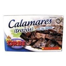 CALAMARES EN TROZOS ORBE 120 GRS